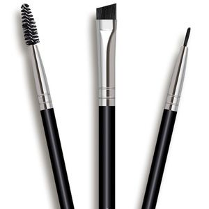 2/$15 3 pcs Aesthetica Eye & Brow Brush Set